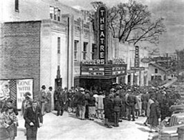 Rogers theater historic photo